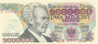 2000000 Zlotych 1992 Polen  Kassenfrisch I  59,99 EUR  Excl. 7,00 EUR Verzending