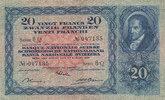 20 Franken 1937 Schweiz  gebraucht III-,  79,99 EUR
