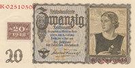 20 Reichsmark 1939 mit Kupon, 1948 Deutschland,Sowjetische Besatzungszo... 49,99 EUR  Excl. 7,00 EUR Verzending