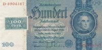 100 Reichsmark 1935 mit Kupon, 1948 Deutschland,Sowjetische Besatzungsz... 49,99 EUR  Excl. 7,00 EUR Verzending