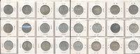 5 Reichsmark 1934-1935 Deutsches Reich, Drittes Reich Satz 5 Reichsmark... 119,99 EUR  zzgl. 7,00 EUR Versand