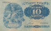 10 Krooni 1928 Estland  gebraucht III,  39,99 EUR  Excl. 7,00 EUR Verzending