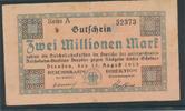 2 Millionen Mark, 1923 Deutsches Reich,Weimarer Republik, Reichbahndire... 2,99 EUR  zzgl. 1,80 EUR Versand
