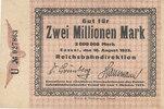 2 Millionen Mark, 1923 Deutsches Reich,Weimarer Republik, Reichsbahndir... 14,99 EUR  zzgl. 1,80 EUR Versand