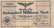 100 Millionen Mark, 1923 Deutsches Reich,Weimarer Republik, Reichbahndi... 7,99 EUR  zzgl. 1,80 EUR Versand