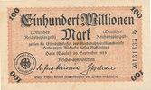 100 Millionen Mark, 1923 Deutsches Reich,Weimarer Republik, Reichbahndi... 3,99 EUR  zzgl. 1,80 EUR Versand