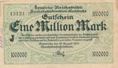 1 Million Mark, 1923 Deutsches Reich,Weimarer Republik, Reichbahndirekt... 3,99 EUR  zzgl. 1,80 EUR Versand
