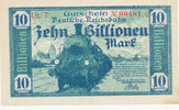 10 Billionen Mark 1923 Deutsches Reich,Weimarer Republik, Reichbahndire... 19,99 EUR  zzgl. 1,80 EUR Versand
