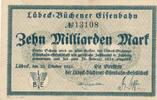 10 Milliarden Mark 1923 Deutsches Reich,Weimarer Republik, Lübeck-Büche... 40,99 EUR  zzgl. 4,00 EUR Versand