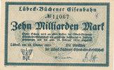 10 Milliarden Mark 1923 Deutsches Reich,Weimarer Republik, Lübeck-Büche... 38,99 EUR  zzgl. 4,00 EUR Versand