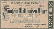 50 Milliarden Mark 1923 Deutsches Reich,Weimarer Republik, Reichbahndir... 9,99 EUR  zzgl. 1,80 EUR Versand