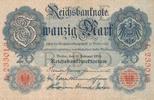 20 Mark 1914 Deutsches Reich, Kaiserreich, Ro.47a KN 6 stellig, Udr.Bst... 49,99 EUR  Excl. 7,00 EUR Verzending