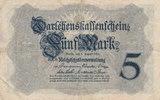 5 Mark 1914 Deutsches Reich, Kaiserreich, Ro.48c KN 8stellig, gebraucht... 3,99 EUR  zzgl. 1,80 EUR Versand
