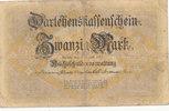 20 Mark 1914 Deutsches Reich, Kaiserreich, Ro.49a KN 6stellig, stark ge... 4,99 EUR  zzgl. 1,80 EUR Versand
