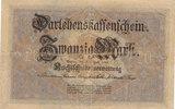 20 Mark 1914 Deutsches Reich, Kaiserreich, Ro.49b KN 7stellig, gebrauch... 6,99 EUR  zzgl. 1,80 EUR Versand