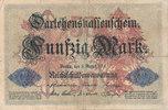 50 Mark 1914 Deutsches Reich, Kaiserreich, Ro.50a KN 6stellig, gebrauch... 4,99 EUR  zzgl. 1,80 EUR Versand