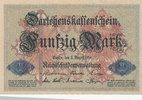 50 Mark 1914 Deutsches Reich, Kaiserreich, Ro.50b KN 7stellig, leicht g... 14,99 EUR  zzgl. 1,80 EUR Versand