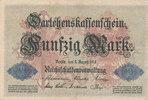 50 Mark 1914 Deutsches Reich, Kaiserreich, Ro.50b KN 7stellig, gebrauch... 2,99 EUR  zzgl. 1,80 EUR Versand