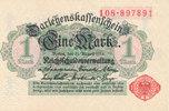 1 Mark 1914 Deutsches Reich, Kaiserreich, Ro.51a ohne Unterdruck, Siege... 14,99 EUR  zzgl. 1,80 EUR Versand