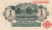 1 Mark 1914 Deutsches Reich, Kaiserreich, Ro.51b ohne Unterdruck, Siege... 2,99 EUR  zzgl. 1,80 EUR Versand