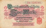 2 Mark 1914 Deutsches Reich, Kaiserreich, Ro.52a ohne Unterdruck, Siege... 3,99 EUR  zzgl. 1,80 EUR Versand
