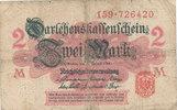 2 Mark 1914 Deutsches Reich, Kaiserreich, Ro.52a ohne Unterdruck, Siege... 1,99 EUR  zzgl. 1,80 EUR Versand