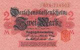 2 Mark 1914 Deutsches Reich, Kaiserreich, Ro.52c mit Unterdruck, Siegel... 1,99 EUR  zzgl. 1,80 EUR Versand