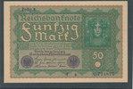 50 Mark 1919 Deutsches Reich,Weimarer Republik, Ro.62a, Reihe 1, Kassen... 8,99 EUR  zzgl. 1,80 EUR Versand