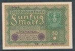 50 Mark 1919 Deutsches Reich,Weimarer Republik, Ro.62a, Reihe 1, leicht... 4,99 EUR  zzgl. 1,80 EUR Versand
