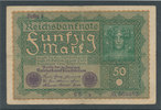 50 Mark 1919 Deutsches Reich,Weimarer Republik, Ro.62a, Reihe 1, gebrau... 0,99 EUR  zzgl. 1,80 EUR Versand