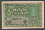 50 Mark 1919 Deutsches Reich,Weimarer Republik, Ro.62b, Reihe 2, Kassen... 9,99 EUR  zzgl. 1,80 EUR Versand