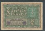 50 Mark 1919 Deutsches Reich,Weimarer Republik, Ro.62c, Reihe 3, stark ... 0,99 EUR  zzgl. 1,80 EUR Versand