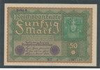 50 Mark 1919 Deutsches Reich,Weimarer Republik, Ro.62d, Reihe 4, Kassen... 14,99 EUR  zzgl. 1,80 EUR Versand