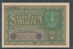 50 Mark 1919 Deutsches Reich,Weimarer Republik, Ro.62d, Reihe 4, leicht... 9,99 EUR  zzgl. 1,80 EUR Versand