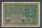 50 Mark 1919 Deutsches Reich,Weimarer Republik, Ro.62d, Reihe 4, stark ... 0,99 EUR  zzgl. 1,80 EUR Versand