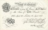 10 Pfund (1935) Deutsches Reich,Drittes Reich, Operation Bernhard, gefä... 179,99 EUR  Excl. 10,00 EUR Verzending