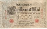 1000 Mark 1903 Deutsches Reich,Kaiserreich,  stark gebraucht IV+,  26,99 EUR  zzgl. 1,80 EUR Versand