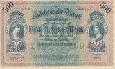 Deutsches Reich,Sachsen, 500 Mark Dresden, Sächsische Bank, Serie V,
