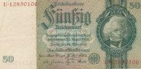 50 Reichsmark 1933 Deutsches Reich,Drittes Reich, Ro.175b,Friedensdruck... 4,99 EUR  zzgl. 1,80 EUR Versand