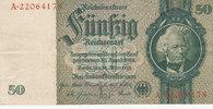 50 Reichsmark 1933 Deutsches Reich,Drittes Reich, Ro.175c Zwischenform ... 1,99 EUR  zzgl. 1,80 EUR Versand