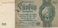 50 Reichsmark 1933(1945) Deutsches Reich,Drittes Reich, Ro.175c Kriegsd... 12,99 EUR  zzgl. 1,80 EUR Versand