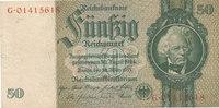 50 Reichsmark 1933(1945) Deutsches Reich,Drittes Reich, Ro.175c Kriegsd... 5,99 EUR  zzgl. 1,80 EUR Versand