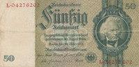50 Reichsmark 1933(1945) Deutsches Reich,Drittes Reich, Ro.175c Kriegsd... 4,99 EUR  zzgl. 1,80 EUR Versand