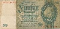 50 Reichsmark 1933(1945) Deutsches Reich,Drittes Reich, Ro.175c Kriegsd... 2,99 EUR  zzgl. 1,80 EUR Versand