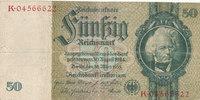 50 Reichsmark 1933(1945) Deutsches Reich,Drittes Reich, Ro.175c Kriegsd... 1,99 EUR  zzgl. 1,80 EUR Versand