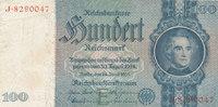 100 Reichsmark 1935 Deutsches Reich,Drittes Reich, Ro.176a, Friedensdru... 7,99 EUR  zzgl. 1,80 EUR Versand