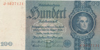 100 Reichsmark 1935 Deutsches Reich,Drittes Reich, Ro.176a, Friedensdru... 14,99 EUR  zzgl. 1,80 EUR Versand