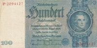 100 Reichsmark 1935 Deutsches Reich,Drittes Reich, Ro.176a, Friedensdru... 8,99 EUR  zzgl. 1,80 EUR Versand