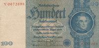 100 Reichsmark 1935 Deutsches Reich,Drittes Reich, Ro.176b, Zwischenfor... 19,99 EUR  zzgl. 1,80 EUR Versand