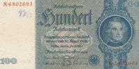 100 Reichsmark 1935 Deutsches Reich,Drittes Reich, Ro.176b, Zwischenfor... 7,99 EUR  zzgl. 1,80 EUR Versand